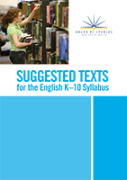Suggested texts for the English K–10 Syllabus
